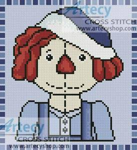cross stitch pattern Mini Country Andy