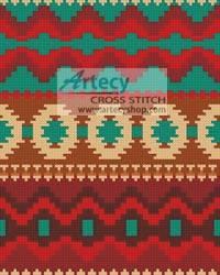 cross stitch pattern Mini Native Design 1