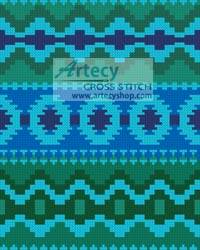 cross stitch pattern Mini Native Design 2