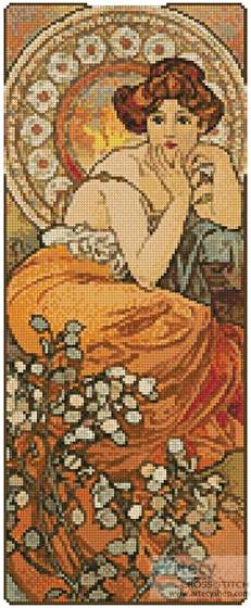 cross stitch pattern Topaz (Small)