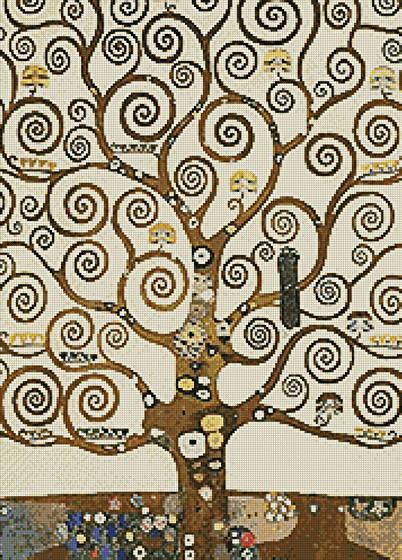 Tree Of Life Cross Stitch Pattern Paintings Inspiration Tree Of Life Pattern
