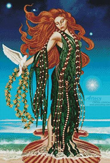 cross stitch pattern Aphrodite