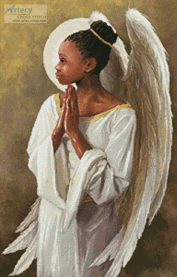 cross stitch pattern Beautiful Angel 1