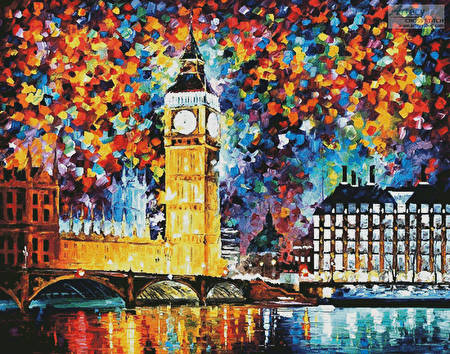 cross stitch pattern Big Ben, London (Large)