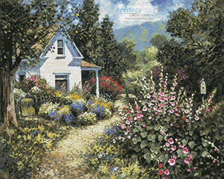 cross stitch pattern Gentle Memory (Summer)