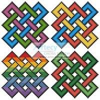 cross stitch pattern Little Celtic Designs 2
