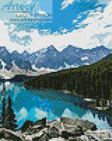cross stitch pattern Mini Canada