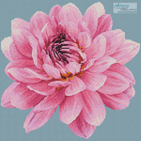cross stitch pattern Mini Dahlia