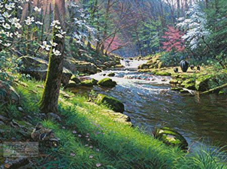 cross stitch pattern Spring - Seasons of Life