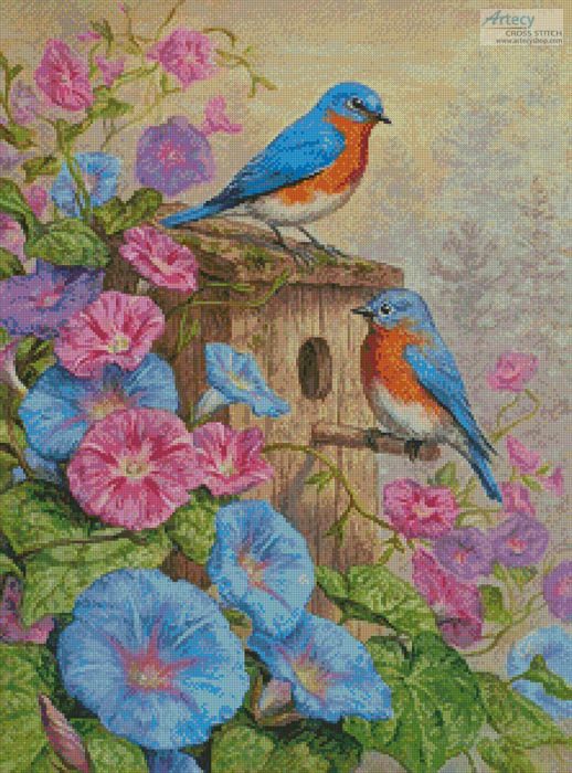 cross stitch pattern A Summer's Dream