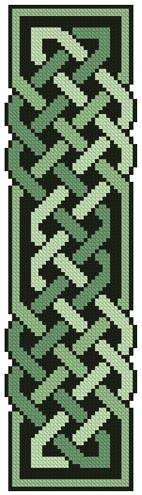 cross stitch pattern Celtic Bookmark 10