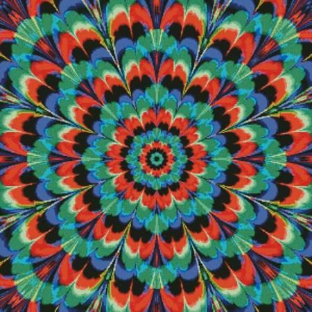 cross stitch pattern Kaleidoscope 5