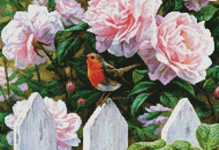 cross stitch pattern Morning in Provence (Crop 2)