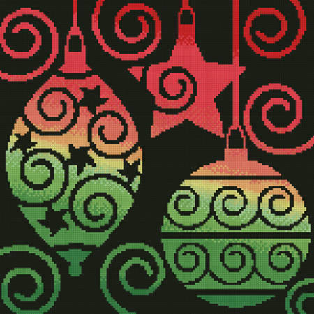 cross stitch pattern Ornaments