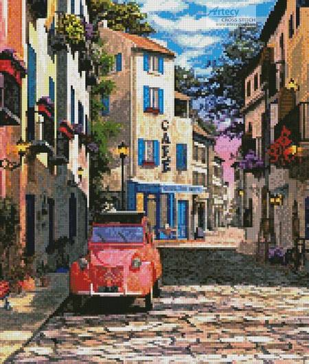 cross stitch pattern Rue Francais (Crop 1)