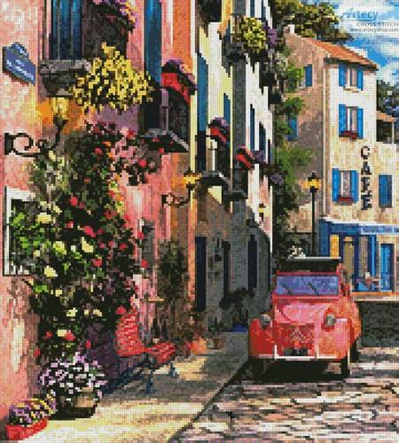 cross stitch pattern Rue Francais (Crop 2)