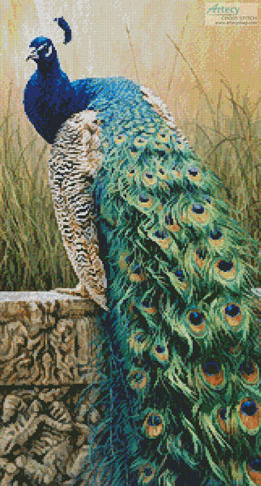 cross stitch pattern Royal Splendour