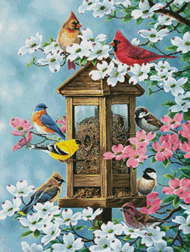 cross stitch pattern Joys of Spring