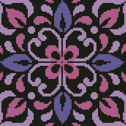cross stitch pattern Ornamental Square 2