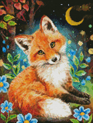 cross stitch pattern Mini Dreamy Night
