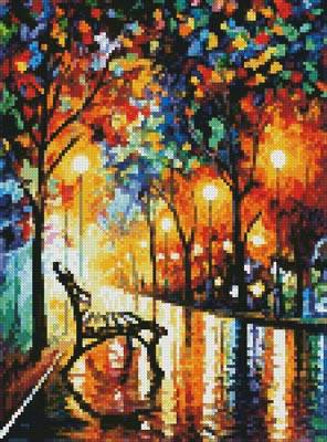 cross stitch pattern Mini Loneliness of Autumn