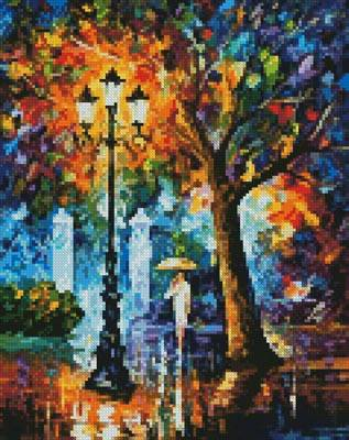 cross stitch pattern Mini Night Aura
