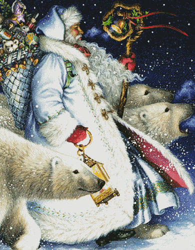 cross stitch pattern Polar Magic (Crop)