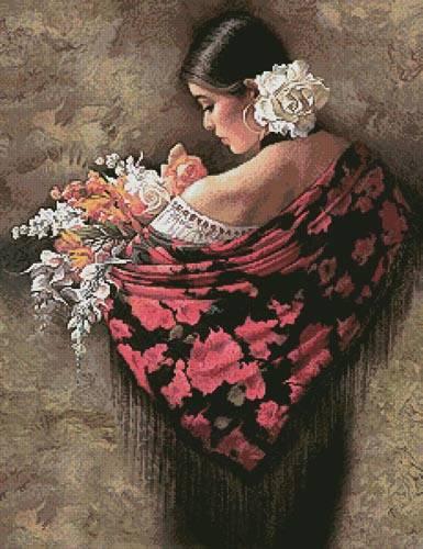 cross stitch pattern Summer Fragrance 2