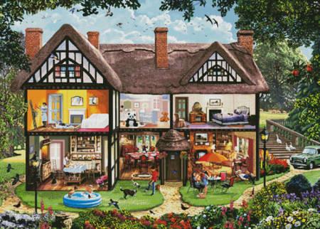cross stitch pattern Summer House (Large)