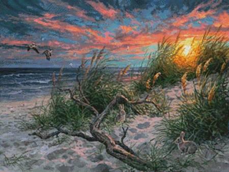 cross stitch pattern Beach Life