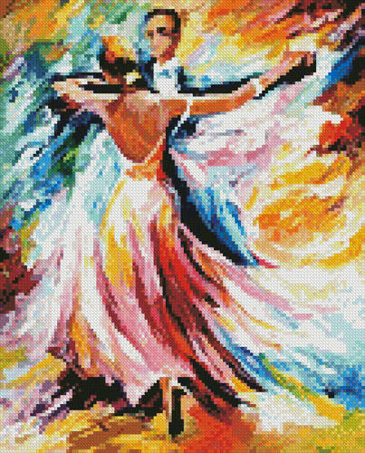 cross stitch pattern Mini Delightful Waltz