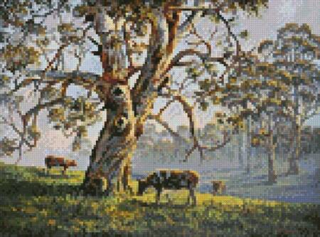 cross stitch pattern Mini Gresford Gum 2