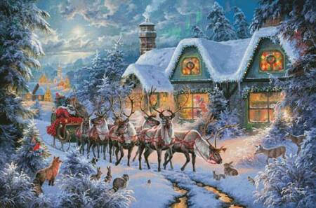 cross stitch pattern Magic of Christmas (Large)