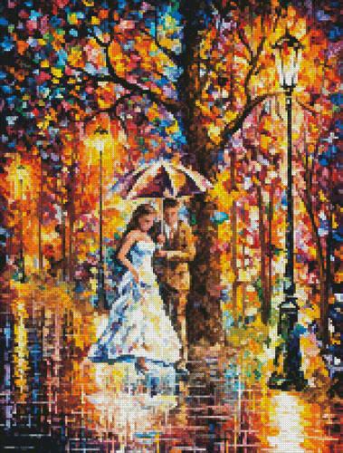 cross stitch pattern Mini Dream Wedding