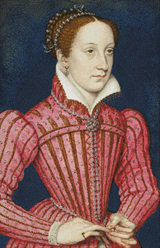 cross stitch pattern Mary Queen of Scots 2