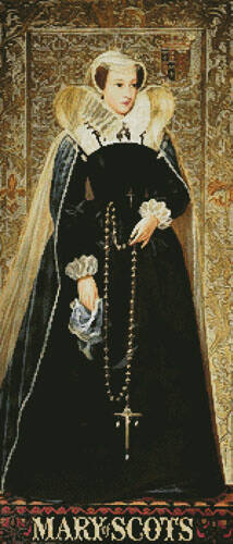 cross stitch pattern Mary of Scots