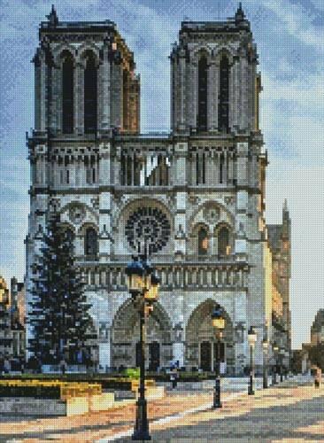 cross stitch pattern Notre Dame (Crop)