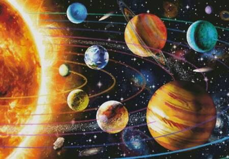 cross stitch pattern New Solar System (Large)