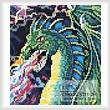cross stitch pattern Mini Dragon