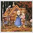 cross stitch pattern Hansel and Gretel