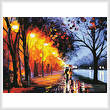 cross stitch pattern Alley by the Lake (Large)