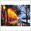 cross stitch pattern Alley by the Lake