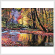 cross stitch pattern Autumn Prelude