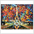 cross stitch pattern Paris of My Dreams (Large)