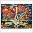 cross stitch pattern Paris of My Dreams (Large)