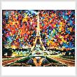 cross stitch pattern Paris of My Dreams