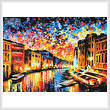 cross stitch pattern Venice Grand Canal (Large)