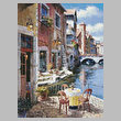 cross stitch pattern Annecy Patio