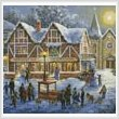cross stitch pattern Christmas Village (Crop 2)
