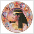 cross stitch pattern Cleopatra Circle (Left)